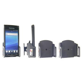 Brodit držák do auta na mobilní telefon nastavitelný, bez nabíjení, š. 62-77 mm, tl. 6-10 mm