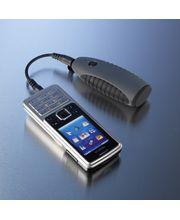 Záložný zdroj a nabíjačka Powerchimp na dve AA Batérie (šedá)