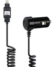 Scosche autonabíječka StrikeDrive Smart s Lightning a micro USB konektorem, I2MC12