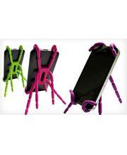 Spiderpodium - univerzální držák pro telefony (fialová)